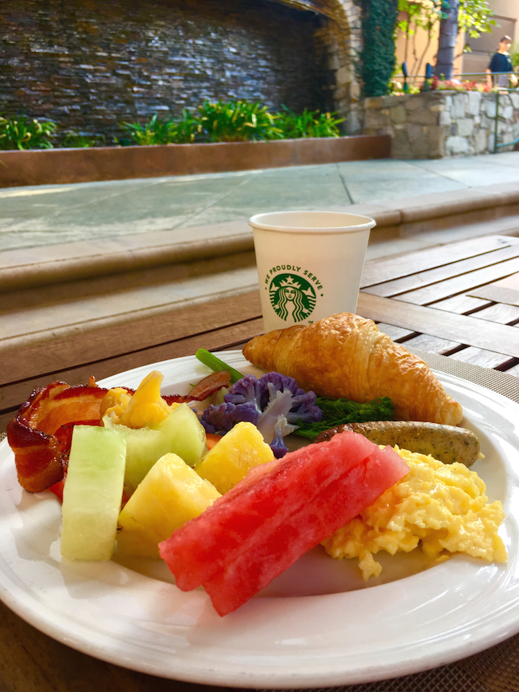 Enjoy the breakfast buffet while staying in Claremont at the DoubleTree.