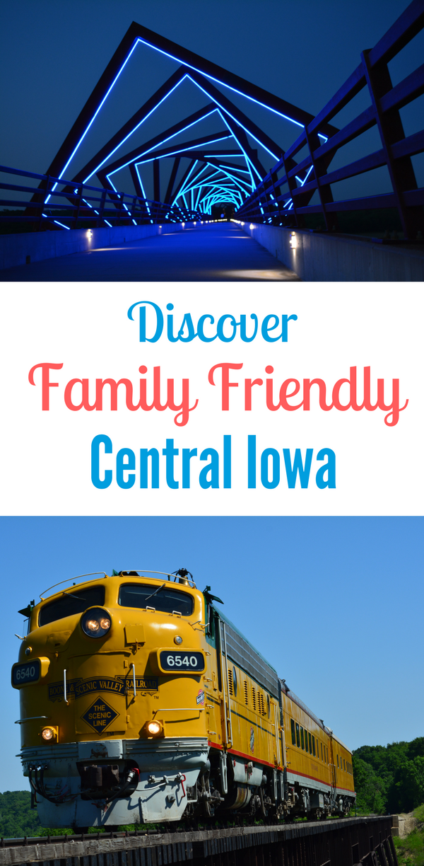 Here are just a few family friendly reasons to visit Central Iowa.