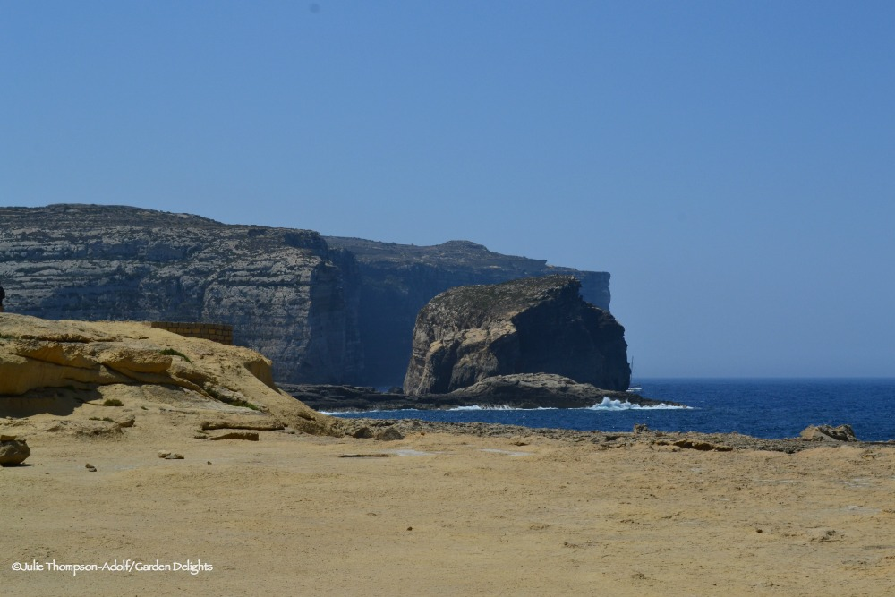Things to do in Gozo include a visit to Fungus Rock.
