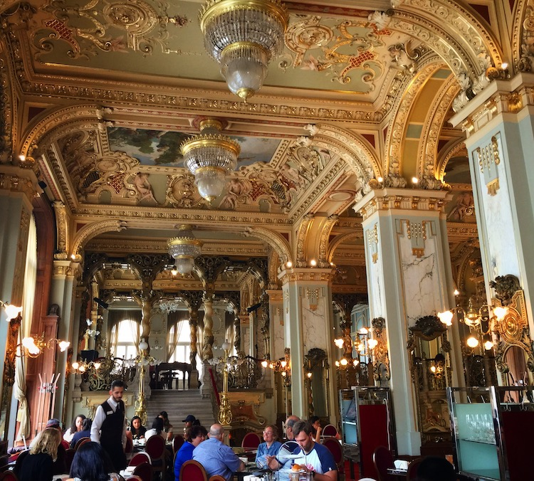 Best things to do in Budapest, Hungary is eat a pastry at New York Cafe.