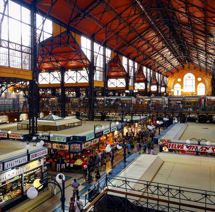 Central Market Hall is one of the best things to do in Budapest, Hungary