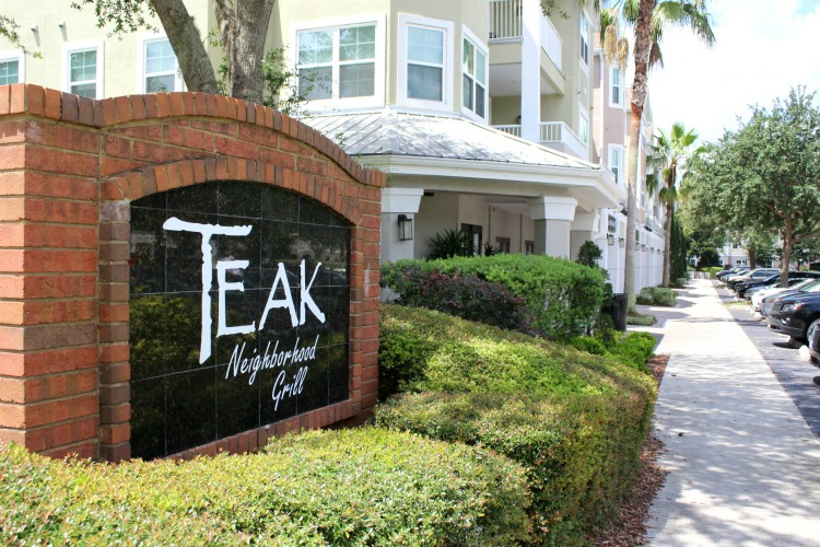 Trying to decide where to eat in Orlando? Teak Neighborhood Grill is popular among locals and tourists alike.