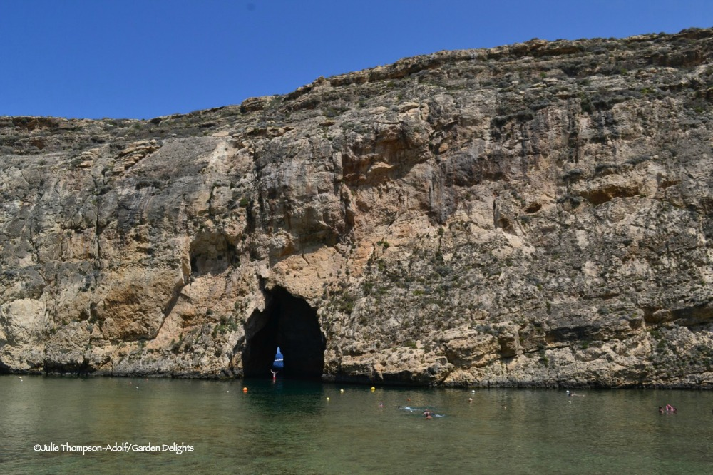 The Inland Sea is a fun thing to do with kids in Gozo.