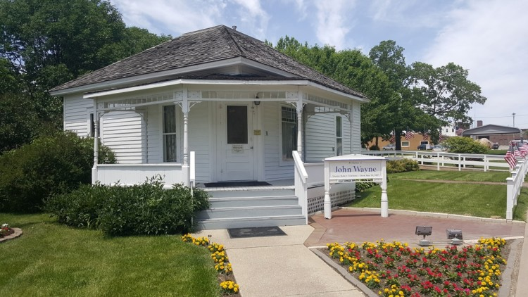 Visiting John Wayne's birthplace is a perfect reason to visit Central Iowa.