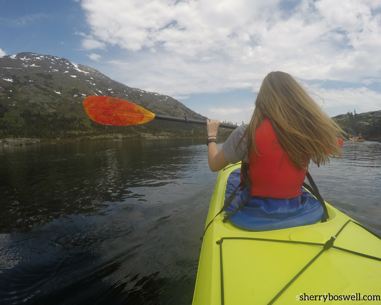 alaska cruise tips for kayaking in Canada