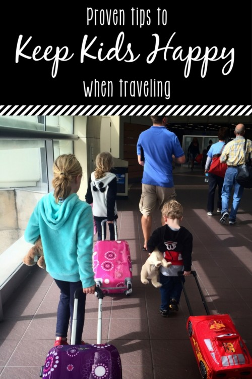 Proven travel tips to keep kids happy when traveling