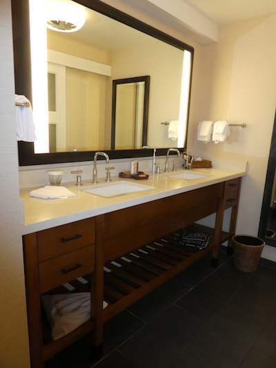 Girls just gotto have a big bathroom on their Hawaiian vacation. Thank you Hilton Waikoloa Village, Big Island Hawaii