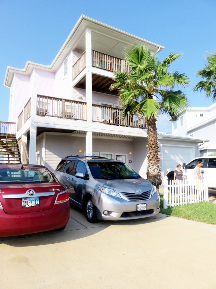 A benefit of vacation rentals is that there's room for multiple families to stay together.