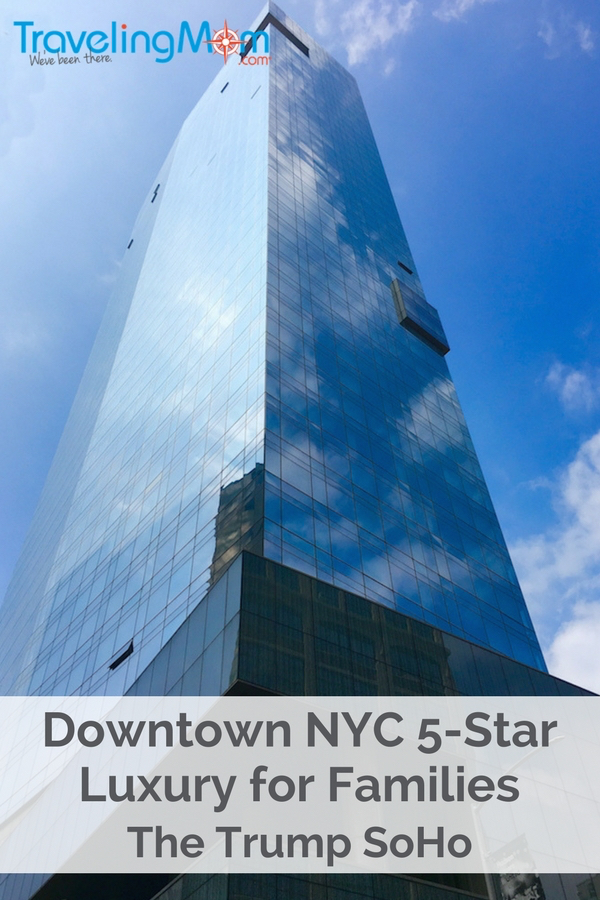 Looking for Downtown New York City luxury hotel that welcomes families with an especially designed suite? Steps from fabulous shopping and iconic restaurants, I've got all the details for families for your next city getaway.