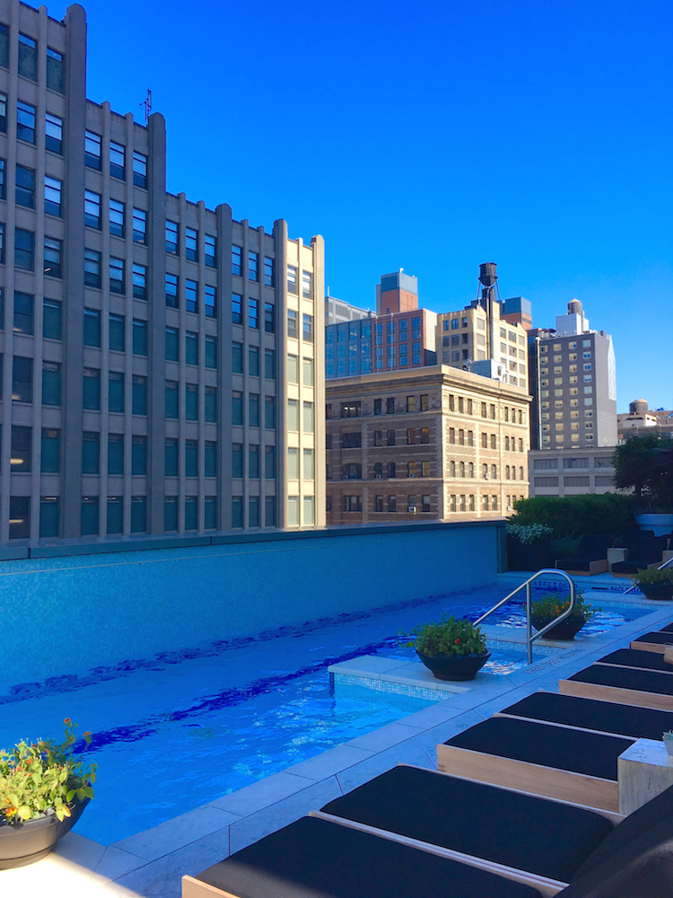 Enjoy a swim and NYC luxury for families at Trump SoHo.