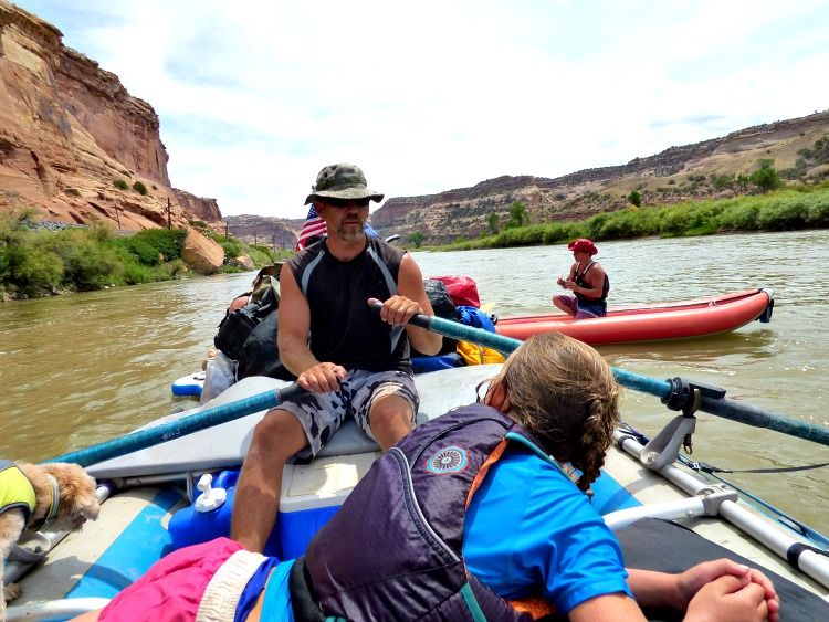 Whitewater Rafting is a great Labor Day Activity