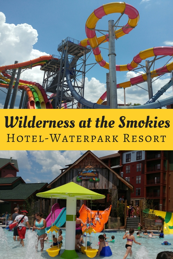 Wilderness at the Smokies in Severville, TN offers indoor and outdoor waterparks with free shuttles and slides for all ages.
