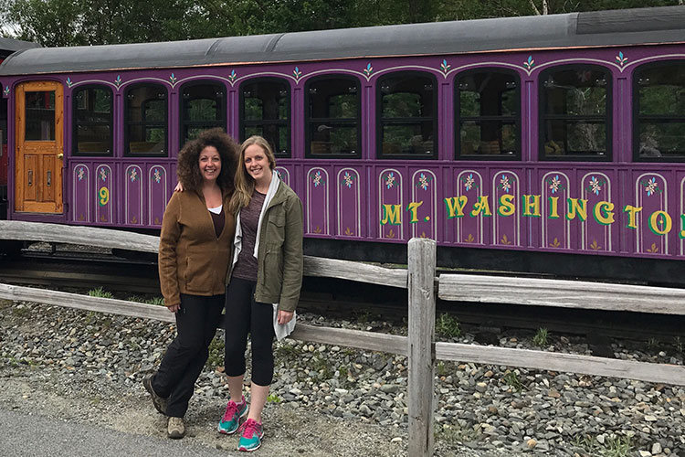 Multigenerational guests of all abilities can enjoy a visit to the top of the White Mountains, thanks to Mount Washington Cog Railway, a great New Hampshire road trip attraction.