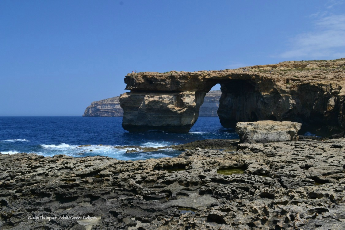 The Azure Window was one of the famous things to do in Gozo.