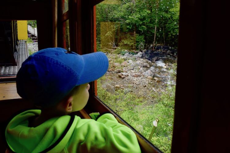 A ride on the Mount Washington Cog Railway is fun for all ages and a great pit stop on a New Hampshire road trip.