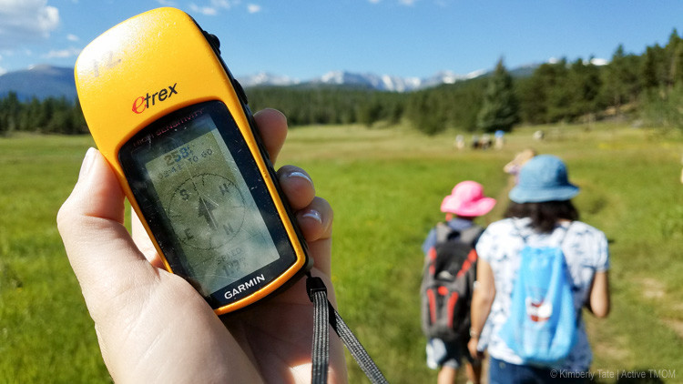 geocaching with the Rocky Mountain Conservancy