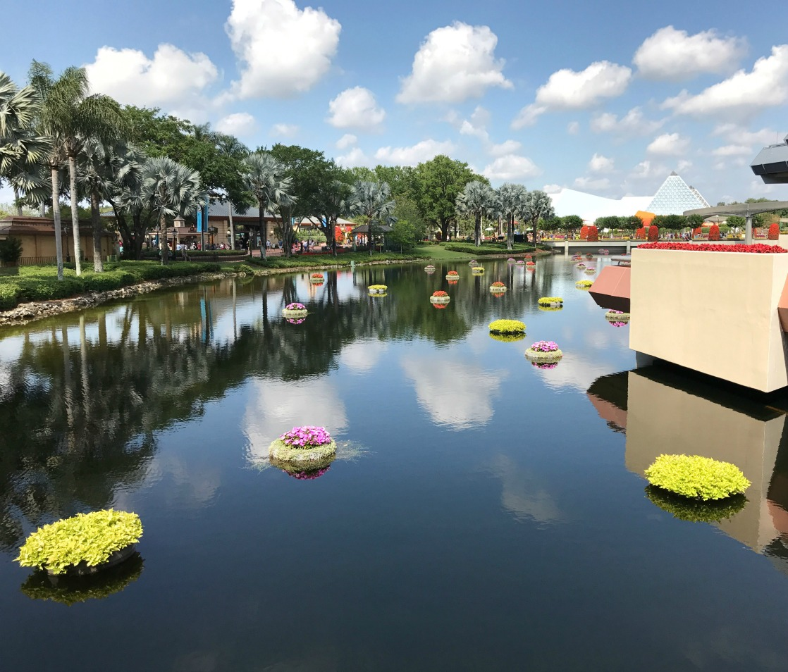Epcot is such a beautiful park to visit, plan a visit on your first visit to disney world.