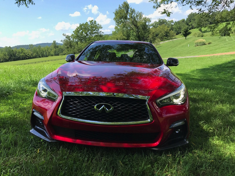 Do you like the sporty new look of the Infiniti Q50?