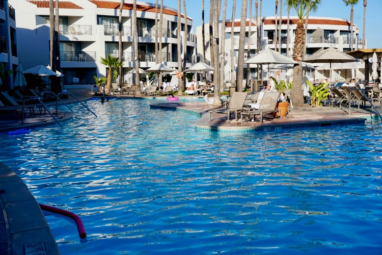 The pools are one of the reasons to stay at Loews Coronado Bay Resort near San Diego, California.