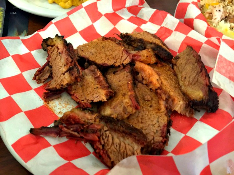 Low and slow are how the meats at Real BBQ and More are cooked, some of the best grilled food in Shreveport, Louisiana.