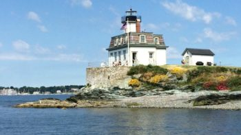 Enjoy a unique family adventure at the Rose Island Lighthouse in Newport, Rhode Island.