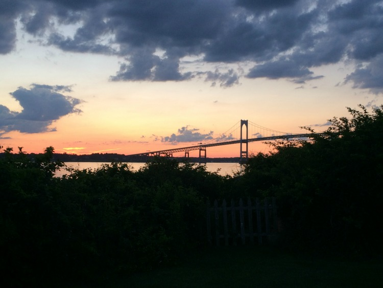 See stunning views of the Newport Bridge during a family adventure to the Rose Island Lighthouse in Newport, Rhode Island.
