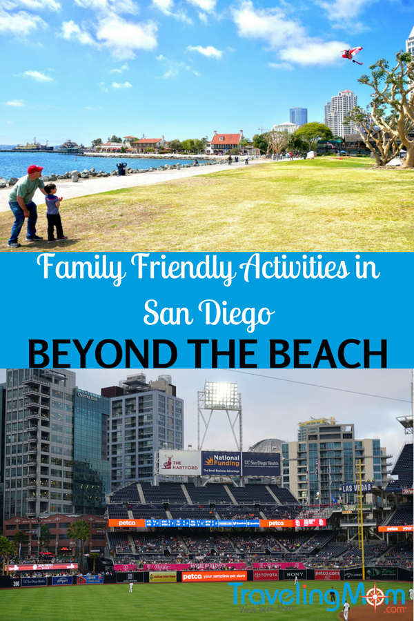 Are you thinking of planning a family vacation to San Diego that include activities besides the beach? There are several family friendly activities in San Diego beyond the beach. Photo by Multidimensional TravelingMom, Kristi Mehes.