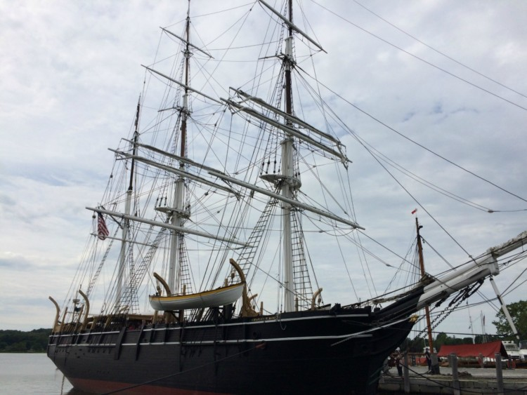 See the Charles W. Morgan during a family trip to Mystic Seaport in Connecticut.
