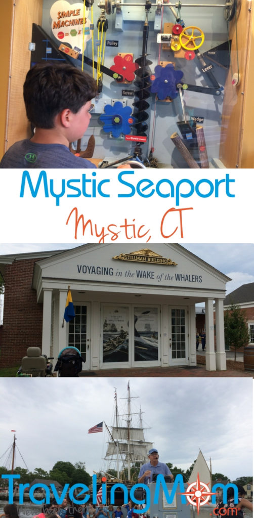A family trip to Mystic Seaport in coastal CT is more than just another museum visit - don't miss a boat ride on the Sabino steamship.