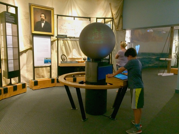See a comprehensive whaling exhibit during a family trip to Mystic Seaport.