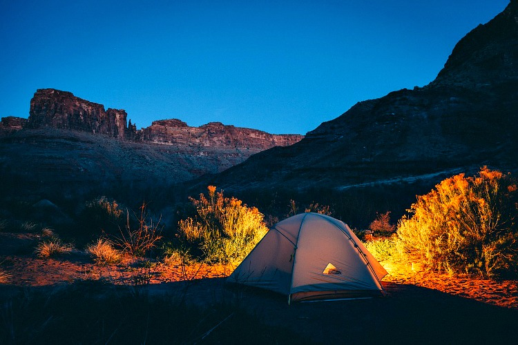 Splurge on Labor Day Activities for Family, like a family camping trip to rejuvenate the feeling of summer.