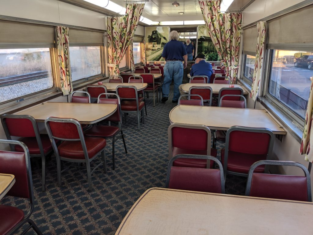 Railroad dining car in Bowling Green KY