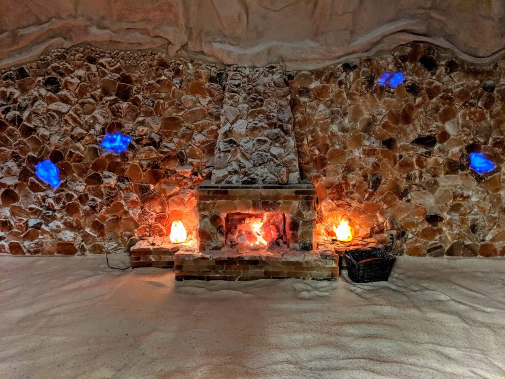 Salt cave in Bowling Green KY