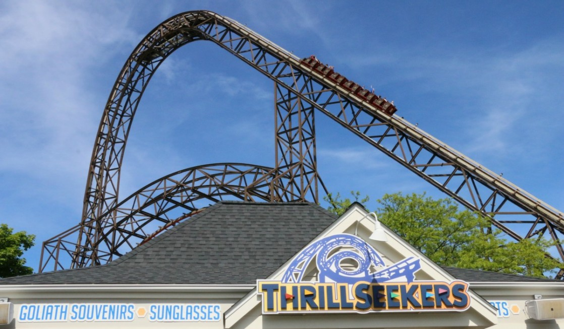 Thrill seekers will love the choice of rollers coaster at Six Flags Great America.