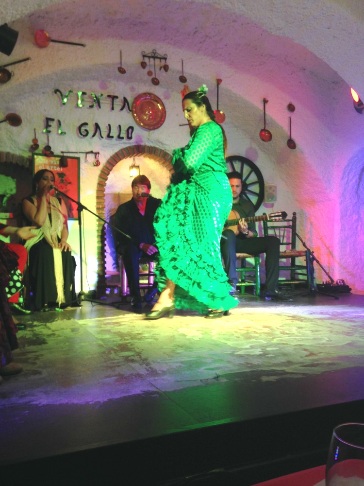 Her flamenco dancing was intense, and she was our favorite!