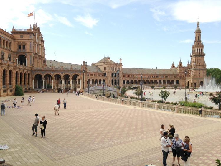 La Plaza de España was a favorite of mine in Andalusia, because Star Wars was filmed there!