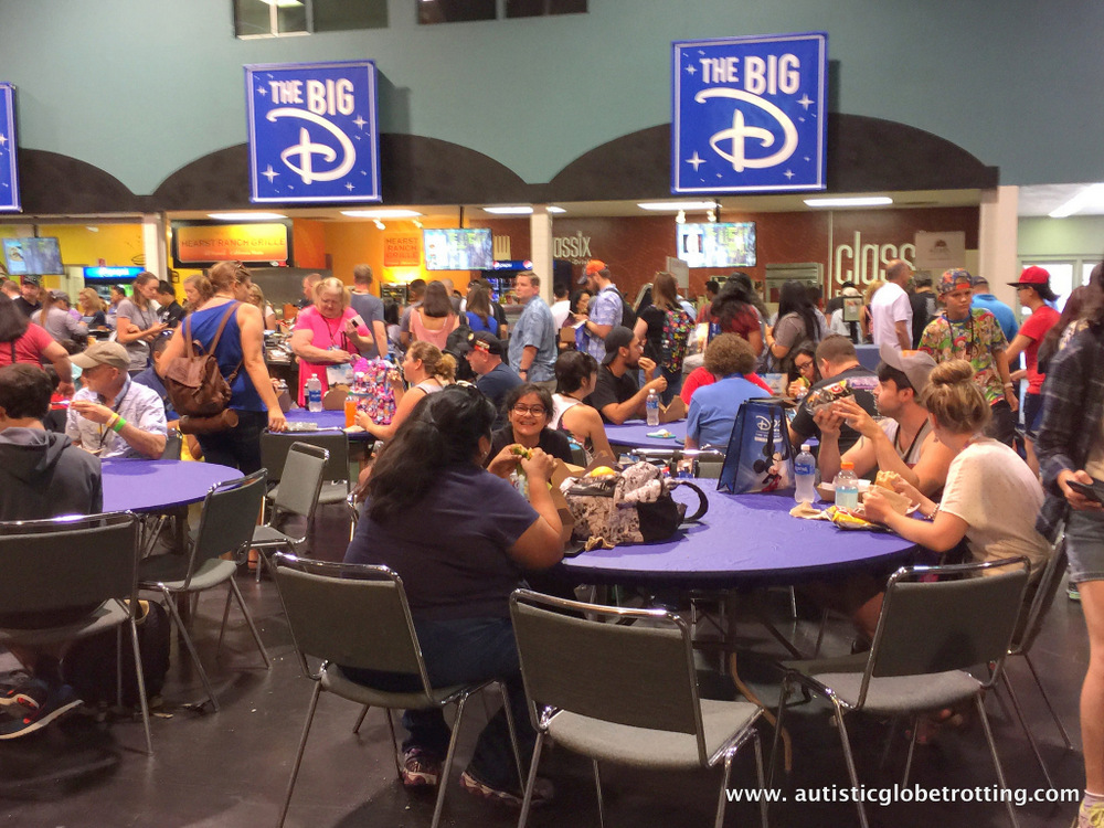 How Disney's D23 Magic Changed My Son with Autism dine