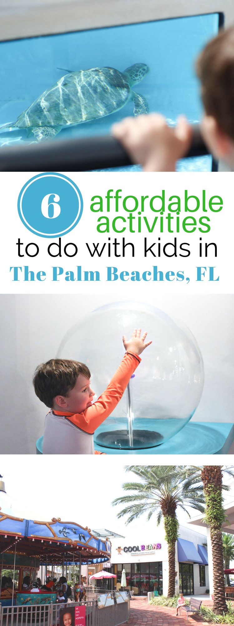 Read all about 6 affordable activities to do with kids in The Palm Beaches FL