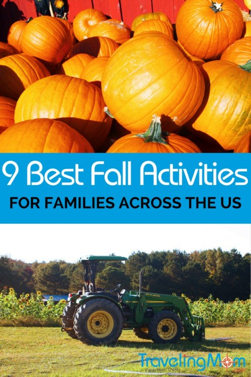 Fall family getaways can be fun with a little planning and research. Let us help you find the best fall activities for families in the US! We've got pumpkin patches, apple picking, and family friendly festivals on our list. Read our tips to know before you go!