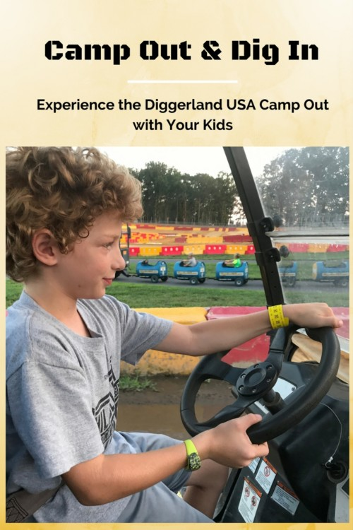 Camp Out & 'Dig' In Experience a Diggerland USA Camp Out with Your Kids.