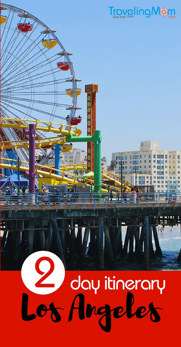 The Santa Monica pier is a fun place to spend time in L.A. in two days