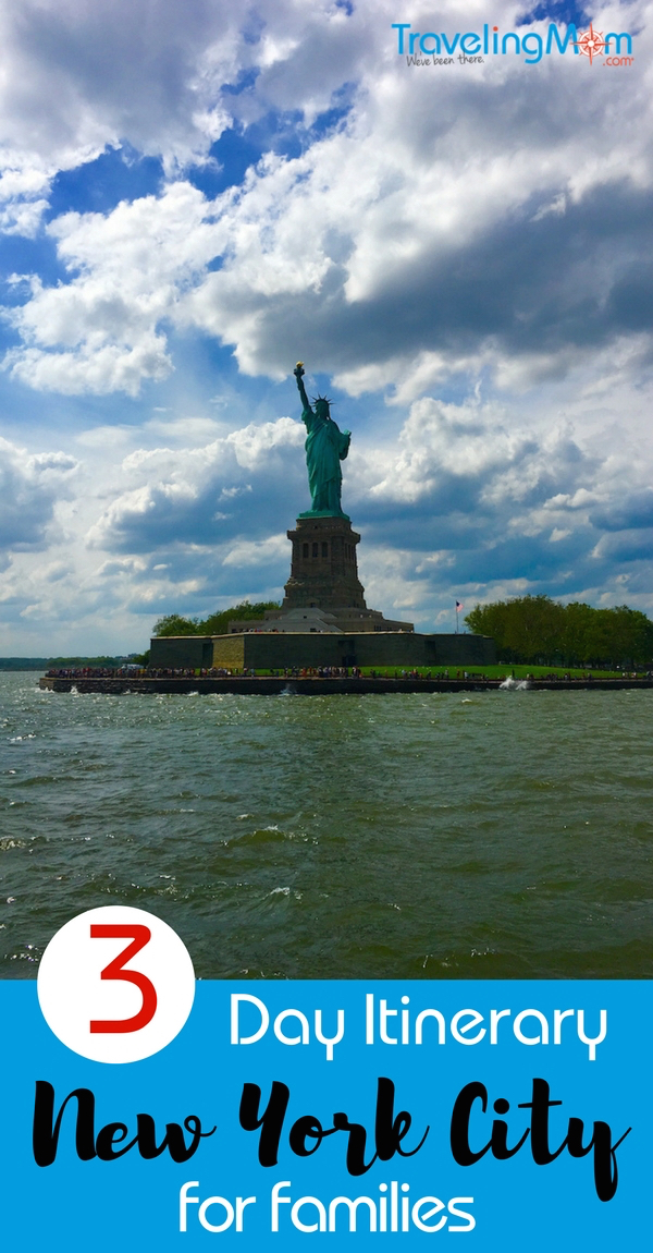 3 day itinerary for new york city new york city with kids