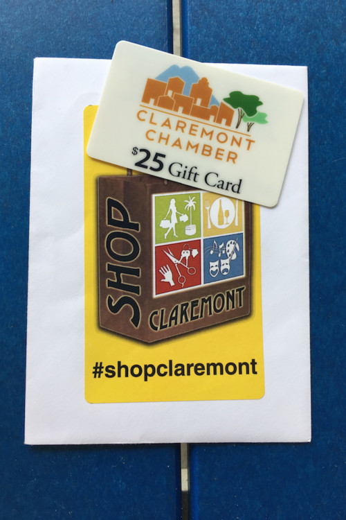 Shop downtown Claremont while touring colleges in California with kids.