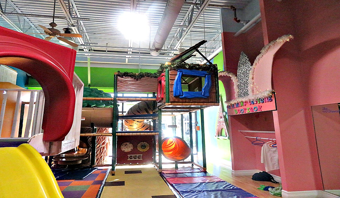 Stop by Cool Beans Cafe & Indoor Playground for rainy day fun in The Palm Beaches.