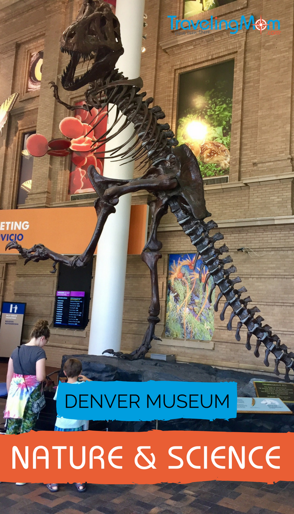 Looking for Colorado family fun vacation ideas in Denver? Here's why we love the Denver Museum of Nature & Science, and recommend it for all ages.
