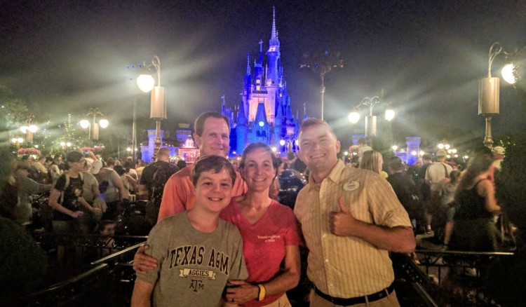 Ethan made sure our family had a memorable Disney Magical moment.