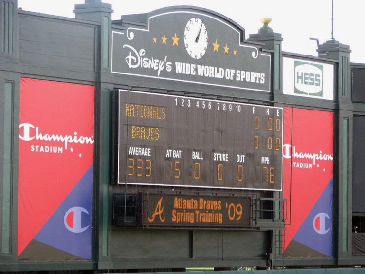 Champion Stadium Scoreboard at Disney's Wide World of Sports