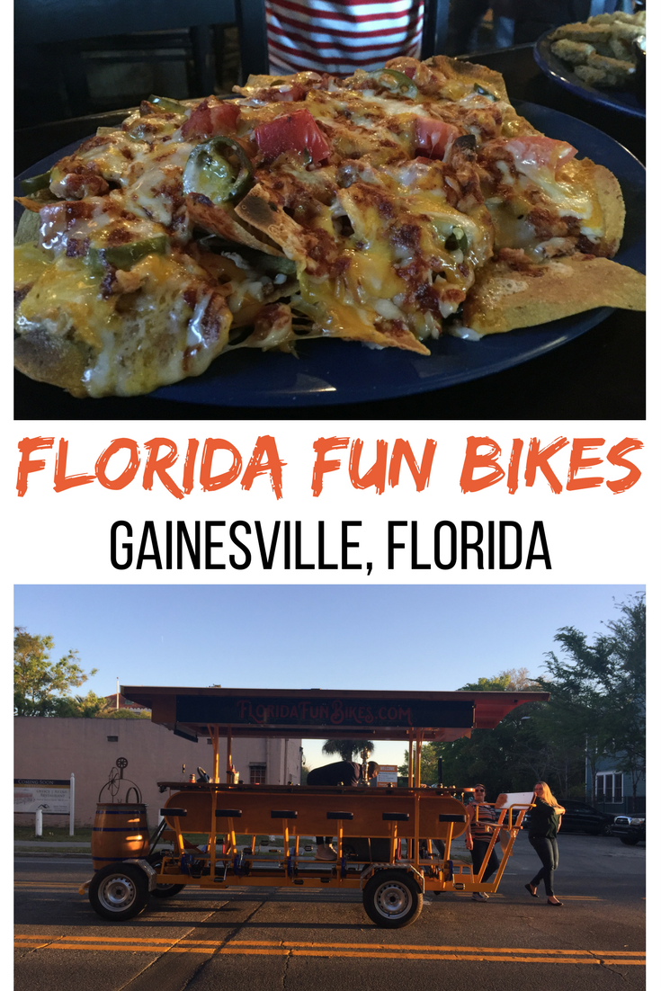 Florida Fun Bikes was the perfect outing to share with my adult aged daughter in Gainesville.