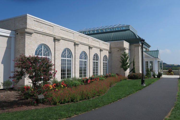 The exterior of a family-friendly attraction, Hershey Gardens, 1 of 5 Attractions for Families in Hershey, Pennsylvania
