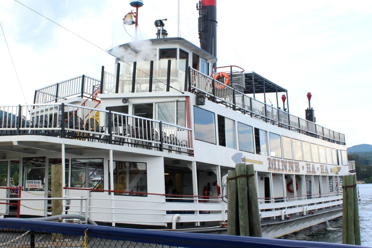 Taking a steamboat tour is one of many things to do when you visit Lake George, NY